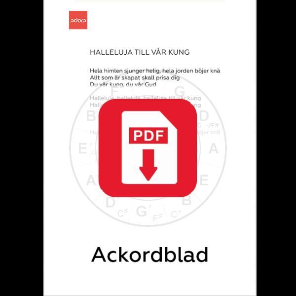 ackordblad_hh_hallelujatillvarkung
